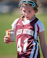 Lakes Region Lacrosse U11 girls versus Concord Crush May 1, 2011.