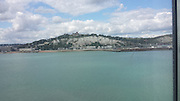 Tuesday 19th August 2014: View of Dover from ferry.