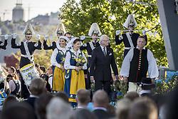 June 6, 2017 - Stockholm, Sweden - Crown Princess Victoria, Queen Silvia, King Carl XVI Gustaf,..Sweden National Day celebrations, Skansen, Stockholm,  (Credit Image: © Aftonbladet/IBL via ZUMA Wire)