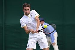 July 4, 2017 - Wimbledon, Angleterre - gilles simon (Credit Image: © Panoramic via ZUMA Press)