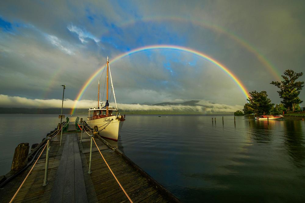 Oceania, New Zealand, Aotearoa, South Island, Te Anau, Southland, Fiordland National Park
