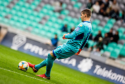 Matej Radan of NK Rudar Velenje during football match between NK Olimpija Ljubljana and NK Rudar Velenje in 25rd Round of Prva liga Telekom Slovenije 2018/19, on April 7th, 2019 in Stadium Stozice, Slovenia Photo by Matic Ritonja / Sportida