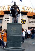 Football Barclays Premiership Billy Wright Statue Wolverhampton Wanderers v West Ham United  at  Molineux Stadium 15/08/2009 Credit: Colorsport / Kieran Galvin