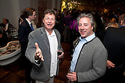 DANNY MOYNIHAN; BEN ANDERSON, Book launch party for the paperback of Nicky Haslam's book 'Sheer Opulence', at The Westbury Hotel. London. 21 April 2010