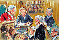 (COPYRIGHT)PRISCILLA COLEMAN-ITN.SUPPLIED BY: PHOTONEWS SERVICE LTD-OLD BAILEY..PIC SHOWS: ANGELA PEPPIATT, THE FORMER SECRETARY OF LORD ARCHER AT THE OLD BAILEY TODAY 26/6/01. WHERE SHE WAS RECALLED TO GIVE EVIDENCE-SEE STORY.ILLUSTRATION: PRISCILLA COLEMAN