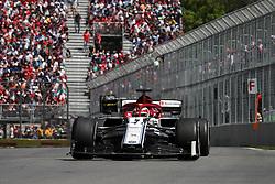 June 9, 2019 - Montreal, Canada - xa9; Photo4 / LaPresse.09/06/2019 Montreal, Canada.Sport .Grand Prix Formula One Canada 2019.In the pic: Kimi Raikkonen (FIN) Alfa Romeo Racing C38 (Credit Image: © Photo4/Lapresse via ZUMA Press)