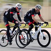 El Tour de Tucson 2019 finishers on 6th Avenue. Bike-tography by Martha Retallick.