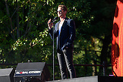 Photo of Neil Patrick Harris attending Global Citizen Festival in Central Park, NYC on September 24, 2016. © Matthew Eisman. All Rights Reserved