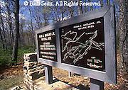 Sign for Frank E. Masland Jr. Natural Area, Tuscarora Forest