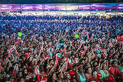 Natiruts se apresenta no Palco Planeta durante a 22ª edição do Planeta Atlântida. O maior festival de música do Sul do Brasil ocorre nos dias 3 e 4 de fevereiro, na SABA, na praia de Atlântida, no Litoral Norte gaúcho.  Foto: Jefferson Bernardes / Agência Preview