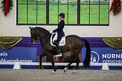 Kronberg, Gestüt Schafhof, KRONBERG _ Int. Festhallen Reitturnier Schafhof Edition 2020,<br /> <br /> BIERMANN Kirstin (GER), Queensland 20<br /> Preis der Liselott Schindling Stiftung<br /> Piaff-Förderpreis - Finale<br /> U25 Grand Prix<br /> Dressurprüfung Kl.S***<br /> <br /> 20. December 2020<br /> © www.sportfotos-lafrentz.de/Stefan Lafrentz