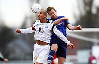Fotball , 13. april 2013 , Adeccoligaen , 1. divisjon<br /> Stabæk - Kristiansund 0-0<br /> <br /> Mahmoud El Haj  , Kr.sund<br /> Nicolai Næss , Stabæk