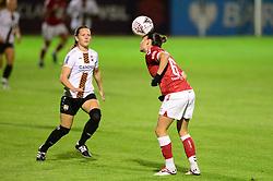Chloe Logarzo of Bristol City Women - Mandatory by-line: Dougie Allward/JMP - 07/10/2020 - FOOTBALL - Twerton Park - Bath, England - Bristol City Women v London Bees - FA Continental Cup