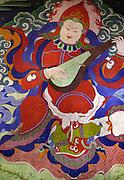 Temple artwork - Ladakh 2006