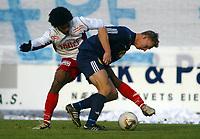 Håndball, 19. oktober 2003, Gildeserien herrer, Drammen-Kragerø 28-28,  Lasse Olsen, Strømsgodset og Olof Hviden-Watson, Fredrikstad