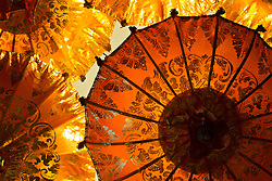 Oriental Parasols, Full Frame