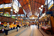 Central Market ( Nagycsarnok ) Budapest, Hungary .<br /> <br /> Visit our HUNGARY HISTORIC PLACES PHOTO COLLECTIONS for more photos to download or buy as wall art prints https://funkystock.photoshelter.com/gallery-collection/Pictures-Images-of-Hungary-Photos-of-Hungarian-Historic-Landmark-Sites/C0000Te8AnPgxjRg