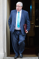 Downing Street, London, November 15th 2016.  Chancellor of the Duchy of Lancaster Patrick McLoughlin leaves Downing Street following the weekly cabinet meeting.