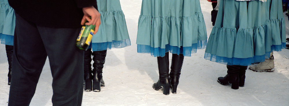 Fairwell to Winter Festival, Irkutsk, Siberia, Russia