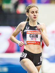 New Balance Indoor Grand Prix Track, womens 1000 meters, Mary Cain