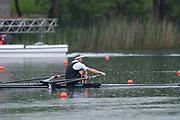 Lucerne, SWITZERLAND,  2016 FISA WCII, Men's single Gold Medalist, NZL M1X Mahe DRYSDALE, Lake Rotsee Lake Rotsee, Sunday, 29/05/2016,<br /> [Mandatory Credit; Peter SPURRIER/Intersport-images]