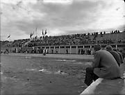 03/09/1955<br /> 09/03/1955<br /> 03 September 1955<br /> Swimming - 1500 Metre Championships of Ireland at Blackrock Baths, Blackrock, Dublin.