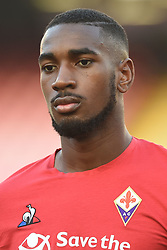 September 15, 2018 - Naples, Naples, Italy - Gerson of ACF Fiorentina during the Serie A TIM match between SSC Napoli and ACF Fiorentina at Stadio San Paolo Naples Italy on 15 September 2018. (Credit Image: © Franco Romano/NurPhoto/ZUMA Press)