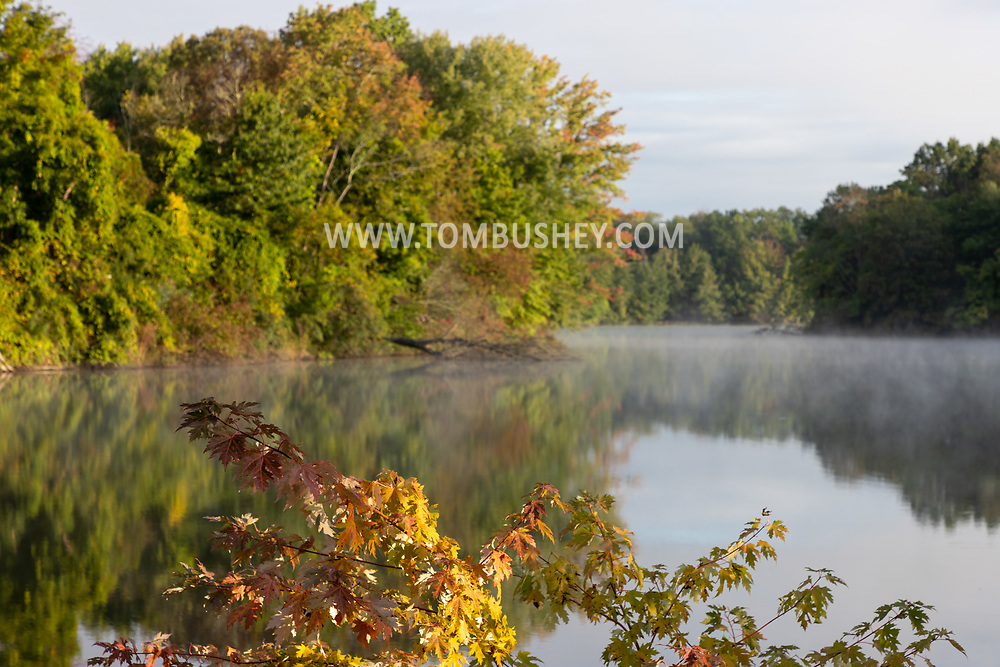 Misty morning scene on Sept. 21, 2021.