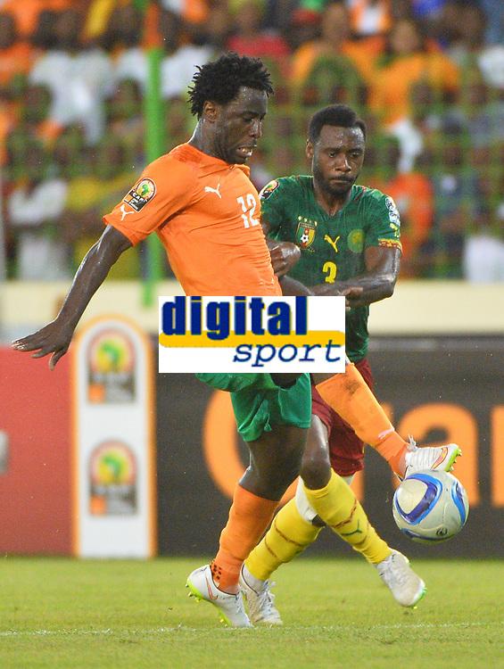 Wilfries Bony ( Cote Ivoire ) - Nicolas Nkoulou ( Cameroun )