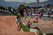 #717 (JIMENEZ CAICEDO Andres Eduardo) COL at the 2016 UCI BMX World Championships in Medellin, Colombia.