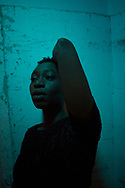 Sarah Afful, an actor with the Stratford Festival is photographed backstage at Stratford Theatre on Wednesday  June 8 , 2016. THE CANADIAN PRESS/Chris Young
