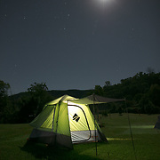Camp-out Bluff Creek