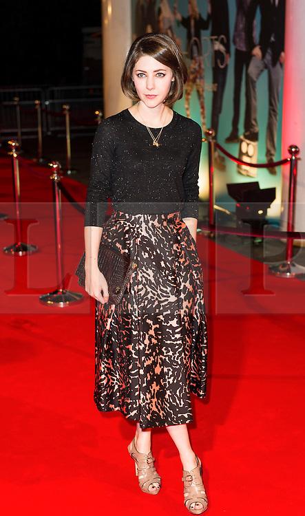 © London News Pictures. 07/11/2013. London, UK. Anouska Mond attending Virgin Media Shorts, BFI IMAX. Photo Credit: Raimondas Kazenas/LNP