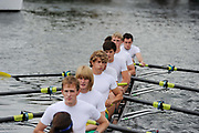 Rowing competitors at the Henley Royal Regatta, an annual event first held in 1839 in Henley-on-Thames, southern England. Off the water, competitors and spectators must adhere to the strict rules that have traditionally governed the dress and comportment of the British upper classes at play.