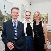 """18.05.2018.          <br /> More than 500 people attended the flagship event of the inaugural Unwrap LSAD Fashion Festival in Limerick.<br /> <br /> Pictured at the event were, David O'Doherty, Anna O'Doherty, Graduate and Anita O'Doherty, Ardagh Co. Limerick.<br /> <br /> The Limerick School of Art & Design, LIT, Fashion Design Graduate Exhibition and launch of the """"The Fashion Film"""" at Limerick City Gallery of Art, in partnership with EVA International, attracted hundreds of people from the world of fashion. <br /> <br /> A total of 27 fashion graduates presented their designs alongside the specially commissioned film by fashion stylist and creative director Kieran Kilgallon and videographer Albert Hooi. Picture: Alan Place"""