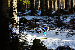 Caroline Colombo (FRA) during the Women 15 km Individual Competition at day 2 of IBU Biathlon World Cup 2019/20 Pokljuka, on January 23, 2020 in Rudno polje, Pokljuka, Pokljuka, Slovenia. Photo by Peter Podobnik / Sportida
