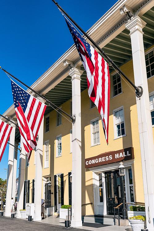 Congress Hall hotel, Cape May, New Jersey, USA
