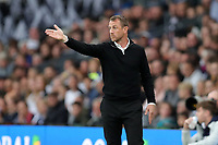 DERBY, ENGLAND - MAY 11: - DCFC vs Fulham. Gary Rowett, Derby manager on the touchline
