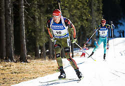 Arnd Peiffer (GER)  during Men 15 km Mass Start at day 4 of IBU Biathlon World Cup 2015/16 Pokljuka, on December 20, 2015 in Rudno polje, Pokljuka, Slovenia. Photo by Vid Ponikvar / Sportida