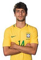 Football Conmebol_Concacaf - <br />Copa America Centenario Usa 2016 - <br />Brazil National Team - Group B - <br />Rodrigo Caio Coquette Russo