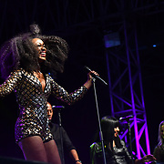 Beverley Knight performs at Kew The Music 2019 on 9 July 2019, Kew Garden, London, UK.