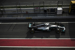 March 1, 2017 - Montmelo, Catalonia, Spain - LANCE STROLL (CAN) takes to the track in his Williams Mercedes FW40 on track during day 3 of Formula One testing at Circuit de Catalunya (Credit Image: © Matthias Oesterle via ZUMA Wire)