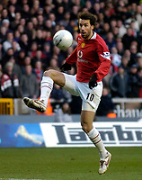 Photo: Glyn Thomas.<br />Wolverhampton Wanderers v Manchester United. The FA Cup. 29/01/2006.<br /> United's Ruud van Nistelrooy.