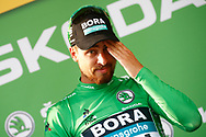 Podium, Peter Sagan (SVK - Bora - Hansgrohe) Green jersey, during the 105th Tour de France 2018, Stage 7, Fougeres - Chartres (231km) on July 13th, 2018 - Photo Luca Bettini / BettiniPhoto / ProSportsImages / DPPI