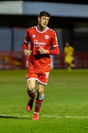 Crawley Town forward Ashley Nadesan (#10) during the EFL Sky Bet League 2 match between Crawley Town and Walsall at The People's Pension Stadium, Crawley, England on 16 March 2021.