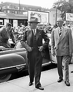 Y-480611-01.  President Truman visits Portland. June 11, 1948.