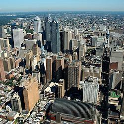 Aerial view of Philadelphia, Pennsylvania
