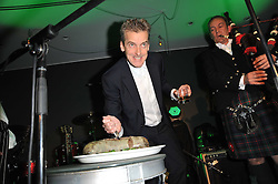 PETER CAPALDI at a Burns Night dinner in aid of cancer charity CLIC Sargent held at St.Martin's Lane Hotel, London on 25th January 2011.