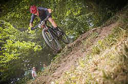 Jagodic Tilen of Calcit Bike Team during the race of XCO National Championship of Slovenia 2021 on 27.06.2021 in Kamnik, Slovenia. Photo by Urban Meglič / Sportida