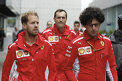 November 8, 2018 - Sao Paolo, Brazil - Sebastian Vettel of Ferrari at the Autodromo of Interlagos. (Credit Image: © Thiago Bernardes/Pacific Press via ZUMA Wire)